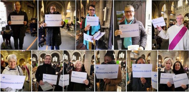 Groupe de paroissiens s'engagent pour les travaux de Notre-Dame du Perpétuel-Secours